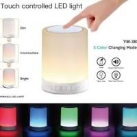 SPEAKER BLUETOOTH CL-671 LED - SPEAKER SMART TOUCH LAMP - LAMPU TIDUR