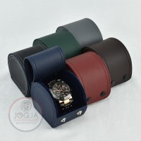 Exclusive Travel Watch Box / Kotak Tempat Jam Tangan Good Quality - Random
