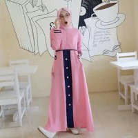 baju gamis wanita terbaru /tya dress muslim remaja kekinian