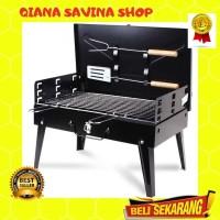 Alat Panggang Arang BBQ Charcoal Grill Stove Foldable outdoor Party