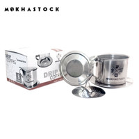 Mokhastock Vietnam Drip Coffee Maker Kopi Vietnam Model Gravitasi Sz 8