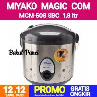 MIYAKO MAGIC COM MCM-508 SBC BLACK RICE COOKER 1,8 Liter Penanak Nasi