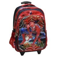 PROMO Tas Trolley Anak Sekolah SD Spiderman Jaring Laba-Laba 5D Timbul