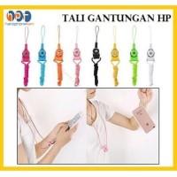 Tali Hp 2in1 Gantungan Kalung Name Tag Id Card Phone Strap Lanyard