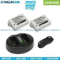 Wasabi Power PAKET 2 Battery + Charger for LP-E8 550D 600D 650D 700D