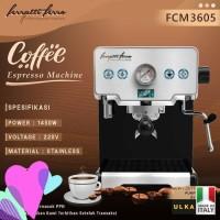 Jen Coffee Maker Mesin Kopi Ferratti Ferro Baru dan Bergaransi