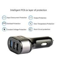 IBD Charger Mobil Qualcomm Quickcharge 3.0 3 Port USB - IBD308