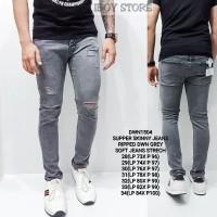 Ripped Jeans/Celana Jeans Pria/Celana Jeans Sobek Pria