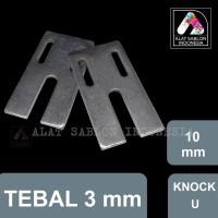 KNOCK THAILAND U 10MM STOPER REGISTER ALAT SABLON