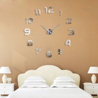 Jam Dinding Besar DIY-105 Giant Wall Clock 80-130cm