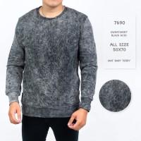Sweater Pria / Sweater Polos Lengan Panjang