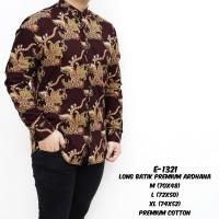 Kemeja Batik Pria Lengan Panjang Premium