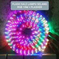 LAMPU LED STRIP SELANG 3528 2835 10M 220V 10 M METER OUTDOOR RGB