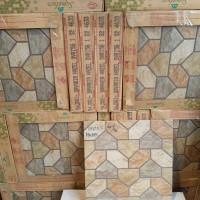 Keramik Lantai 40x40 Mulia Bavaria Hazel Kw1 Teras Garasi Kamar Mandi
