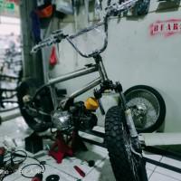 Modifikasi motor BMX Cub