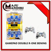 GAMEPAD DOUBLE BENING / TRANSPARAN USB R-ONE