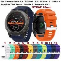 STRAP UNTUK GARMIN FENIX 5X / 5X PLUS / 6X / 6X PRO / 3 / 3HR / MK1