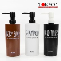 Tokyo 1tempat botol sabun cair, shampo Princess Dispenser 520ML 070032