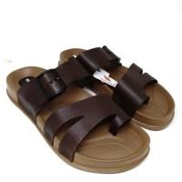 sandal karet laki