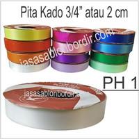 Pita Kado / pita Jepang 3/4 inch atau 2cm