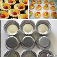 Terbagus Cetakan Pie Susu / Egg Tart / Pai Buah (Ukuran B = 7 Cm)