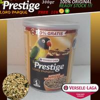 PRESTIGE LORO PARQUE AFRICAN PARAKEET PAKAN BURUNG LOVE BIRD / PARKIT