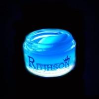Paling Populer Pomade Ritjhson Glow In The Dark Blue Free Sisir Saku
