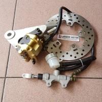 Discount Cakram Belakang Assy New Vixion Nvl + Kaliper Master Rem Kw
