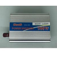 Power Inverter 500 Watt 24 Volt / Inverter 500 W DC 24V to AC 220V