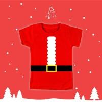 Santa Costume Kids T-Shirt   Kaos Anak Kostum Santa   XMAS10