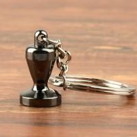 Gantungan Kunci Aksesoris Kopi Barista Keychain Model Coffee Tamper