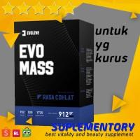 Evolene Evomass HALAL Otot Kurus Evo Mass Gainer 1KG 2LBS 2 LBS