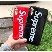 iPhone XS iPhone X Tpu Soft Supreme Casing Case Cover