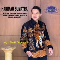 Harimau Sumatra Kemeja Batik Solo Full Furing By RajaSakti