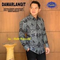 Damarlangit Kemeja Batik Solo Lengan Panjang Ful Furing By RajaSakti