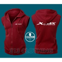 Jaket Rompi Vest Zipper Xmax The Ultimate Pride - 313 Clothing