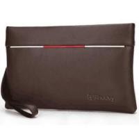 Tas Genggam Dompet Kulit Clutch Bag Size Large Rhodey - Brown