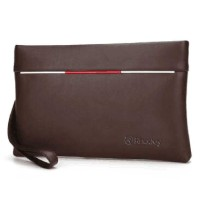 Tas Genggam Dompet Kulit Clutch Bag Size Small Rhodey - Brown
