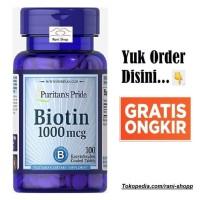 Puritan's Puritans puritan pride biotin 100 Tabs 1000 mcg 1000mcg