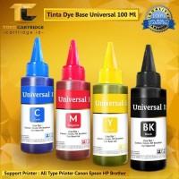 Tinta Refill 100ml printer HP Deskjet 2135 1115 1515 1510 1010 1000 - Hitam