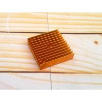 Heatsink 40x40x11 Cooling Pendingin FIn Gold MK7 MK8 extruder 40mm 4cm