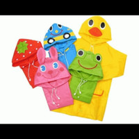Jas hujan anak bayi balita usia 2 - 5 tahun / Jas hujan anak karakter