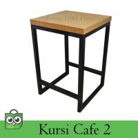 Kursi Cafe Meja Minimalis Tipe 2 Kursi Makan