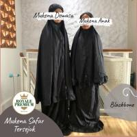Mukena Couple Ibu Anak Royale Premium - Blackbone