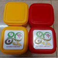 lunch box +stiker for souvenir and promosi