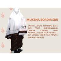 Mukena Batik Bordir Cantik Murah
