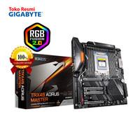 Gigabyte Motherboard Socket sTRX4 E-ATX 8 x DDR4 TRX40 AORUS MASTER