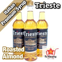 Sirup Trieste Premium Syrup Rasa Roasted Almond Flavour 650 ml