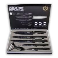 Pisau Set Knife Set Perlengkapan Pisau Dapur IDEALIFE IL 160