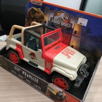 Matchbox Jurrasic World Legacy Collection Jeep Wrangler